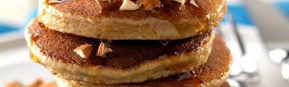 Pancakes con harina de almendra
